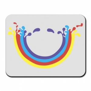 Mouse pad Smiling rainbow