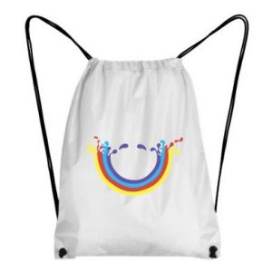 Backpack-bag Smiling rainbow