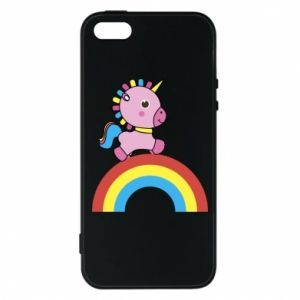 Phone case for iPhone 5/5S/SE Rainbow pony