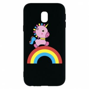 Phone case for Samsung J3 2017 Rainbow pony