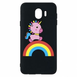 Phone case for Samsung J4 Rainbow pony