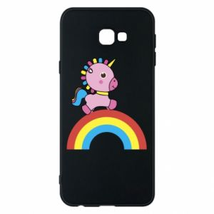 Phone case for Samsung J4 Plus 2018 Rainbow pony