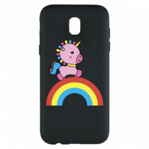 Phone case for Samsung J5 2017 Rainbow pony