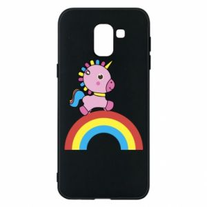 Phone case for Samsung J6 Rainbow pony