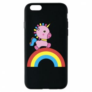 Phone case for iPhone 6/6S Rainbow pony