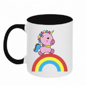Two-toned mug Rainbow pony