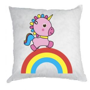 Pillow Rainbow pony