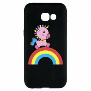 Phone case for Samsung A5 2017 Rainbow pony