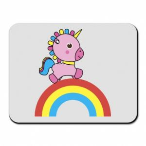 Mouse pad Rainbow pony