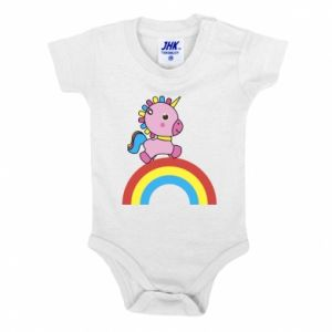 Baby bodysuit Rainbow pony