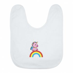 Bib Rainbow pony