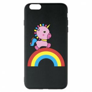 Phone case for iPhone 6 Plus/6S Plus Rainbow pony