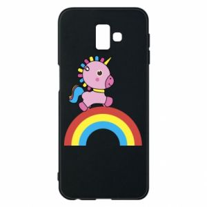 Phone case for Samsung J6 Plus 2018 Rainbow pony
