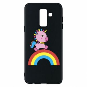Phone case for Samsung A6+ 2018 Rainbow pony