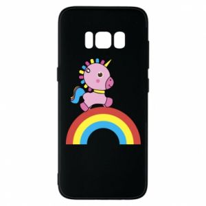 Phone case for Samsung S8 Rainbow pony