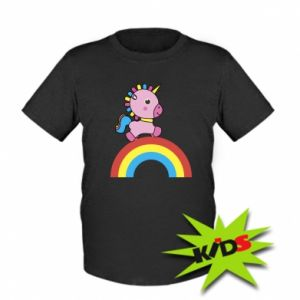 Kids T-shirt Rainbow pony