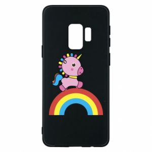 Phone case for Samsung S9 Rainbow pony