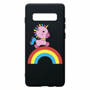 Phone case for Samsung S10+ Rainbow pony