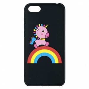 Phone case for Huawei Y5 2018 Rainbow pony