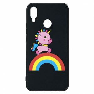 Phone case for Huawei P Smart Plus Rainbow pony