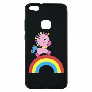 Phone case for Huawei P10 Lite Rainbow pony