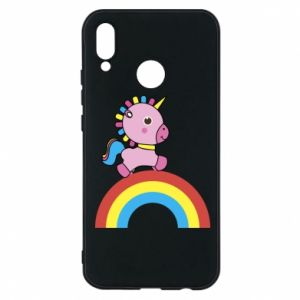 Phone case for Huawei P20 Lite Rainbow pony