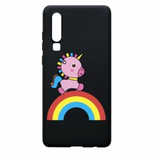Phone case for Huawei P30 Rainbow pony