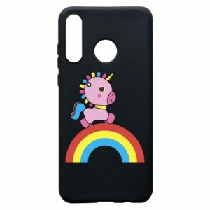 Phone case for Huawei P30 Lite Rainbow pony