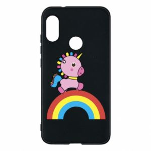 Phone case for Mi A2 Lite Rainbow pony