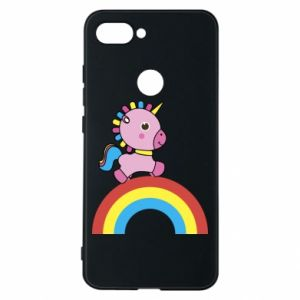Phone case for Xiaomi Mi8 Lite Rainbow pony