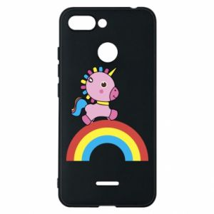 Phone case for Xiaomi Redmi 6 Rainbow pony