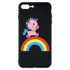 Phone case for iPhone 7 Plus Rainbow pony