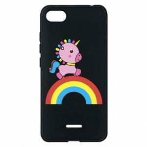 Phone case for Xiaomi Redmi 6A Rainbow pony