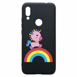 Phone case for Xiaomi Redmi 7 Rainbow pony