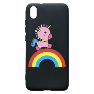 Phone case for Xiaomi Redmi 7A Rainbow pony