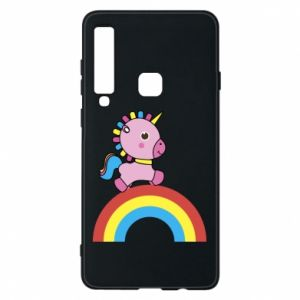 Phone case for Samsung A9 2018 Rainbow pony