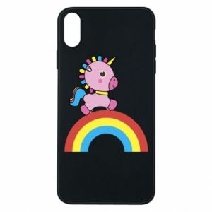 Phone case for iPhone Xs Max Rainbow pony