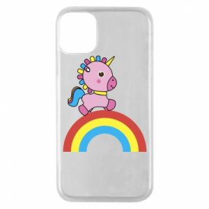 Phone case for iPhone 11 Pro Rainbow pony