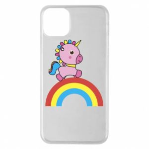 Phone case for iPhone 11 Pro Max Rainbow pony