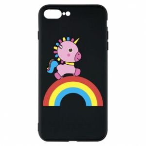 Phone case for iPhone 8 Plus Rainbow pony