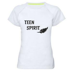 Damska koszulka sportowa Teen spirit