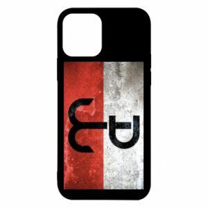 Etui na iPhone 12/12 Pro Tekstura Kotwica