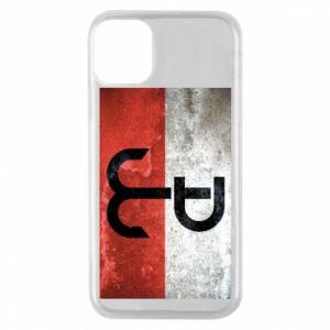 Etui na iPhone 11 Pro Tekstura Kotwica