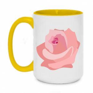 Kubek dwukolorowy 450ml Tender rose