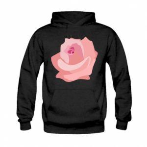 Bluza z kapturem dziecięca Tender rose