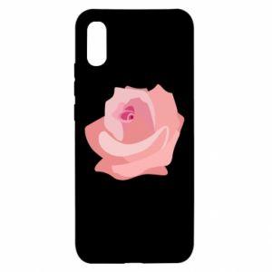 Etui na Xiaomi Redmi 9a Tender rose