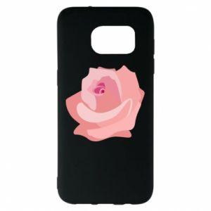 Etui na Samsung S7 EDGE Tender rose