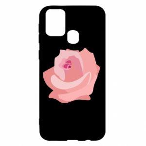 Etui na Samsung M31 Tender rose