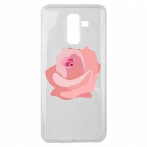 Etui na Samsung J8 2018 Tender rose