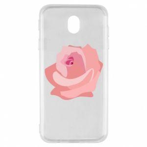 Etui na Samsung J7 2017 Tender rose
